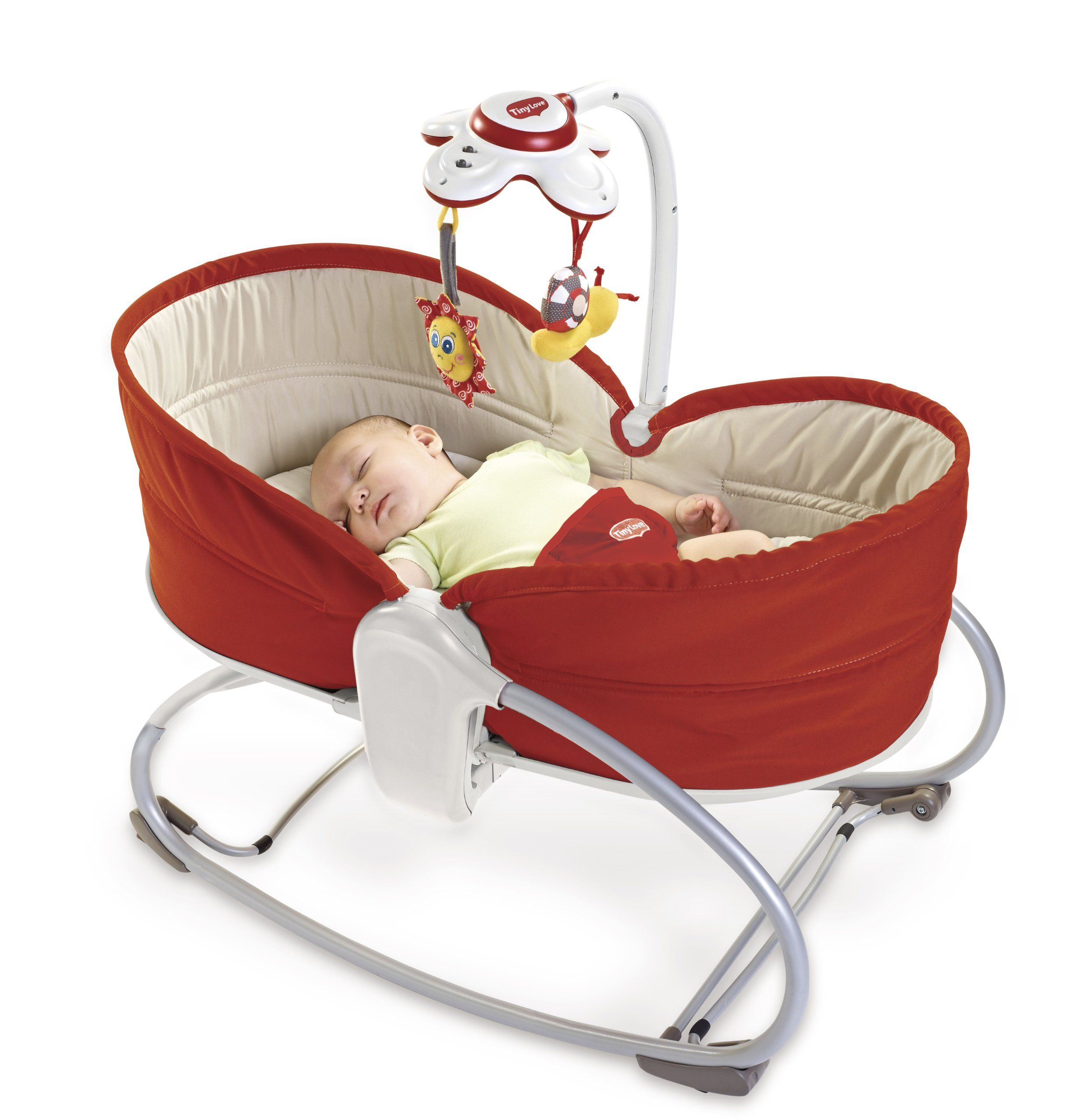 Tiny Love 3 in 1 Rocker Napper Red Tiny Love Amazon Baby