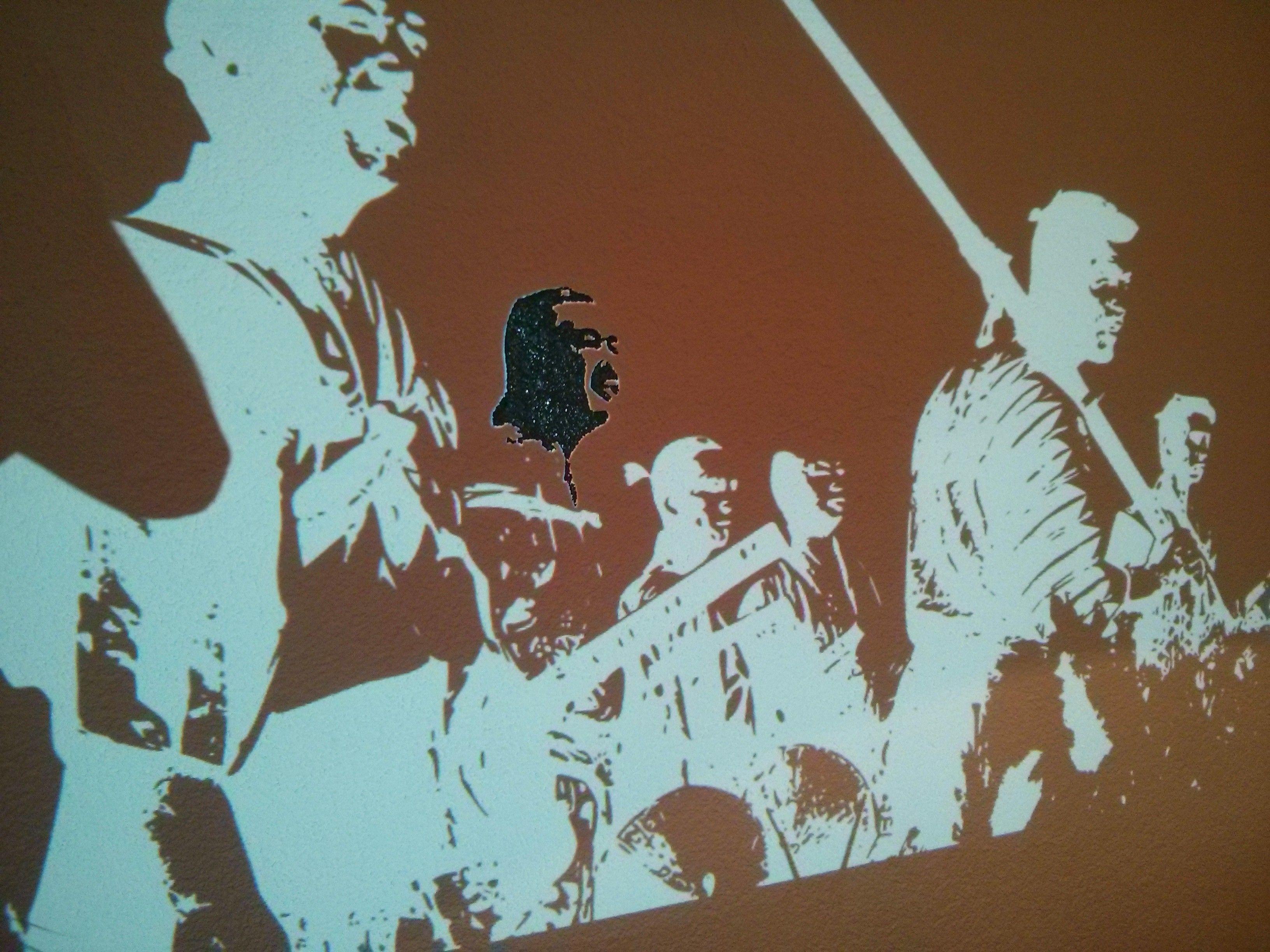 Do it yourself wall art seven samurai in your home solutioingenieria Gallery