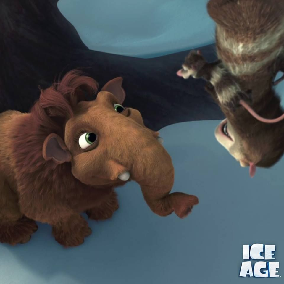 when baby ellie met her family. | ice age | pinterest | ice age and