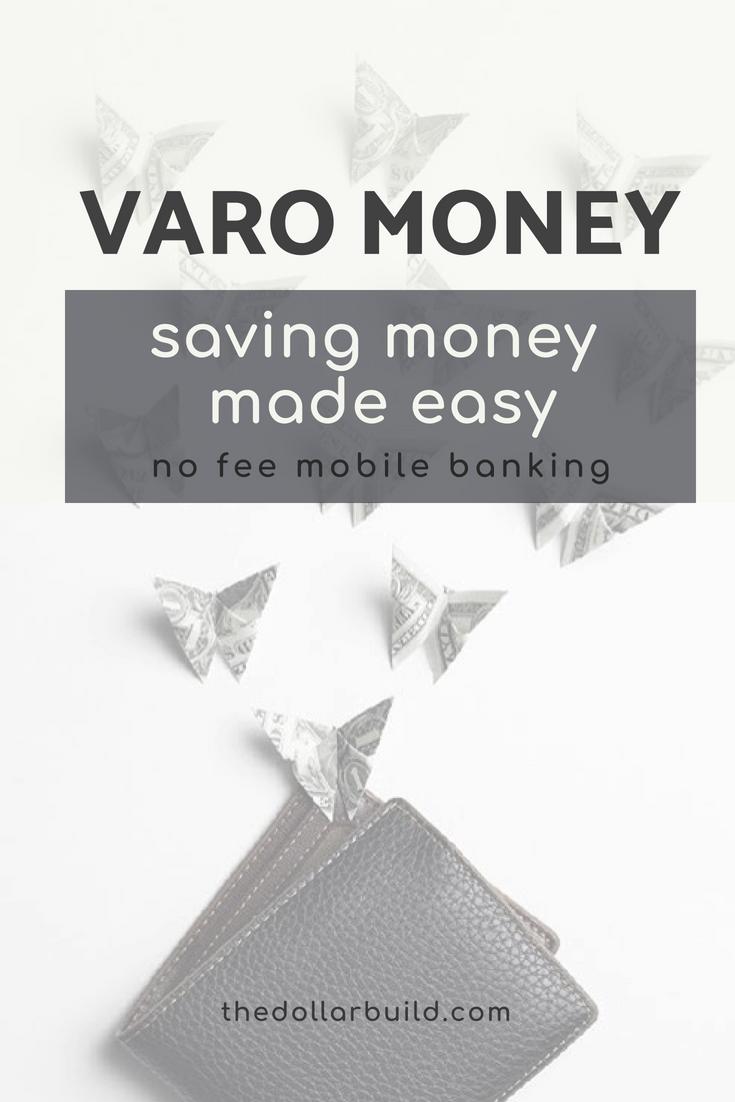 Varo Bank Review Mobile Banking Money Saving Tips Saving Money