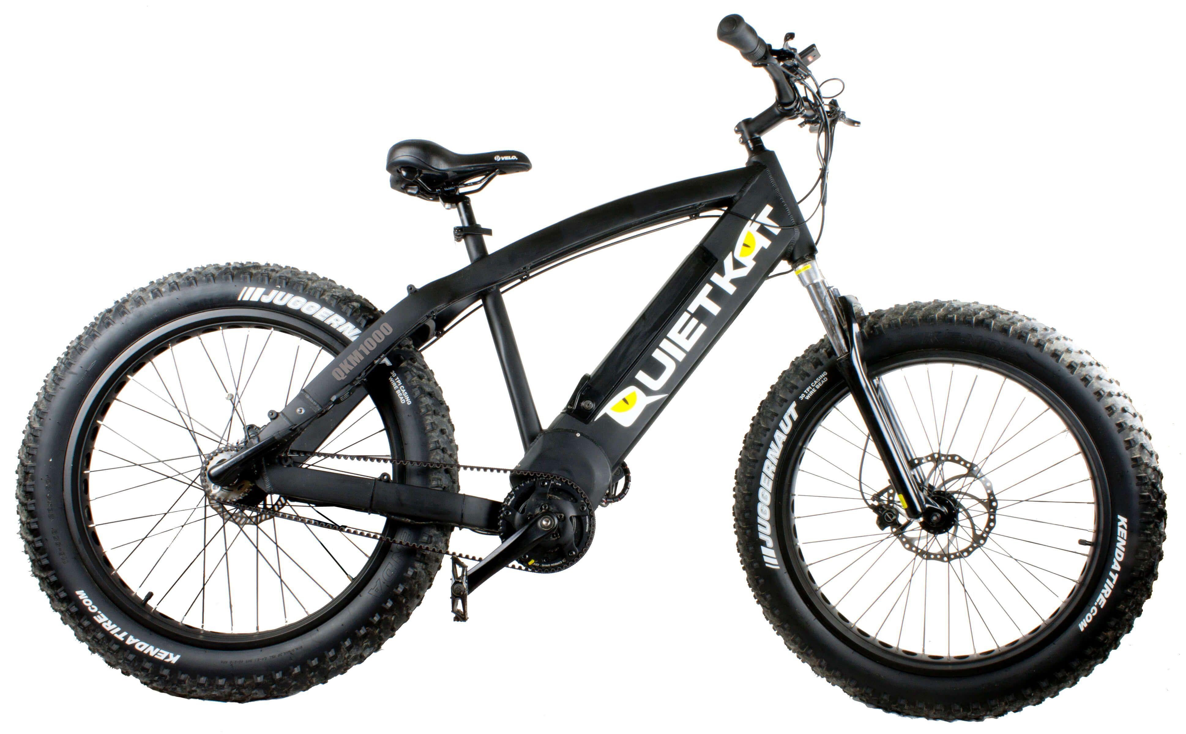 Quietkat Fatkat 48v 1000w Internal Motor Carbon Belt Drive Electric Mountain Bike Black With Images Leisure Bike Lightweight Bike Bike