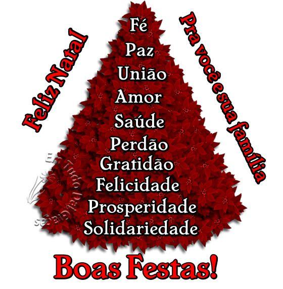 Feliz Natal Pra Você E Sua Família Mensagens De Boas
