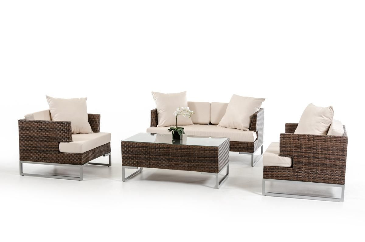 Renava Modena Outdoor Sofa Set Distributed by VIG Furniture