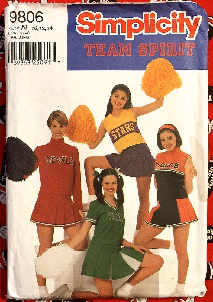 HALLOWEEN #CHEERLEADER COSTUME Sewing Pattern #Sexy Uniforms ...