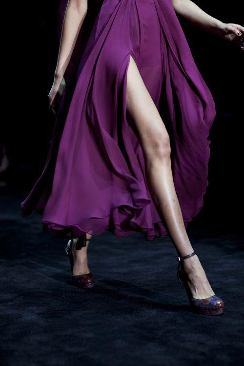 Gucci Fall 2011 #purple