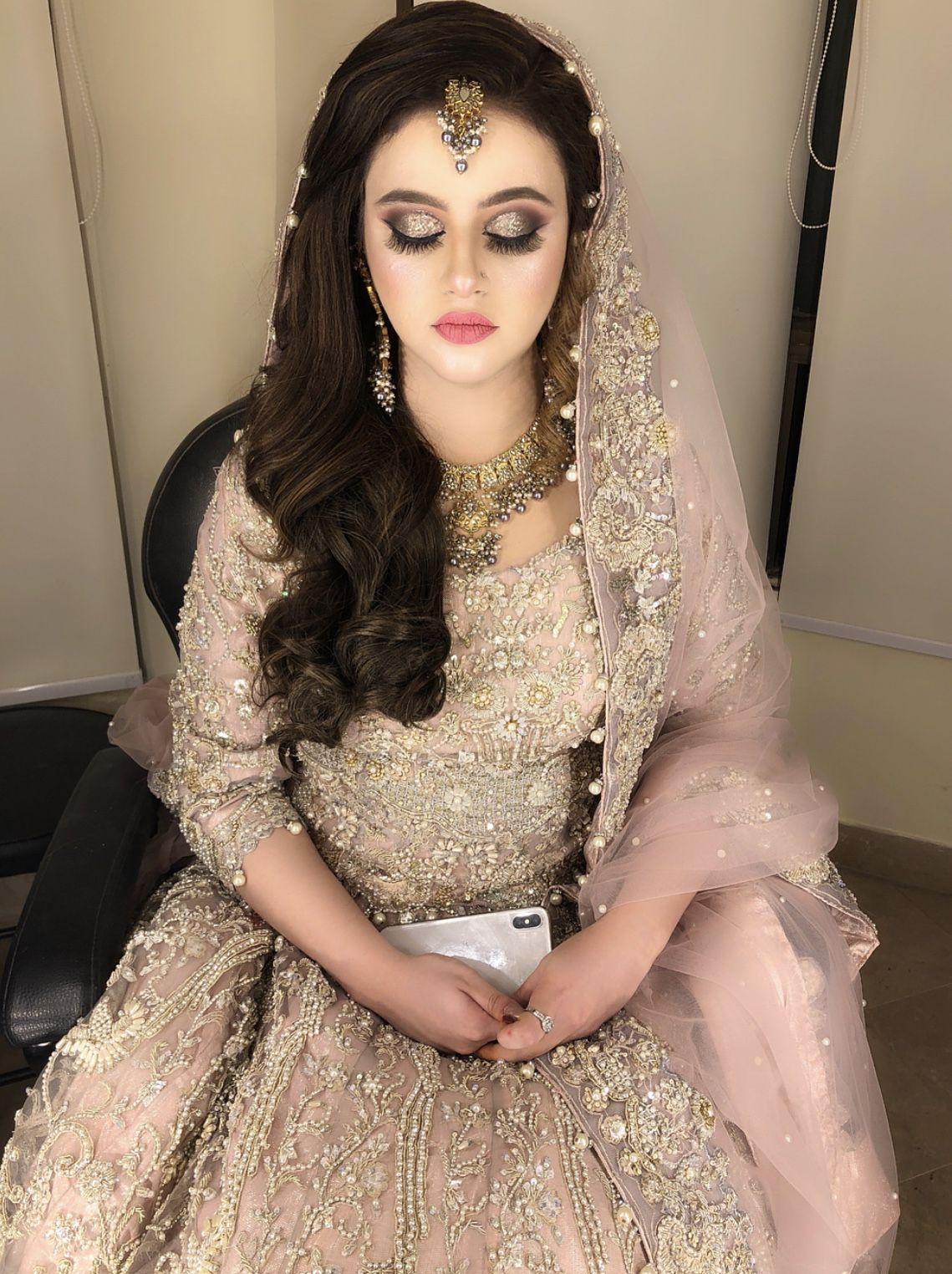 Nikkah bride Modern bridal dress, Pakistani bridal