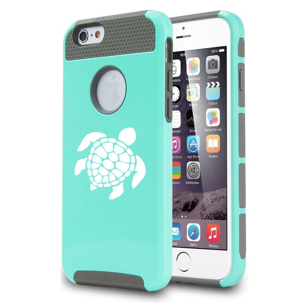 For Apple iPhone SE 5s 5c 6 6s Plus Shockproof Impact Hard Case Cover Sea Turtle #Daylor
