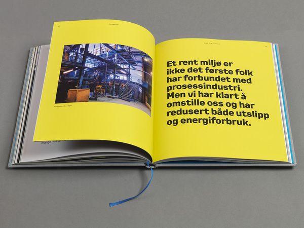 Saint-Gobain Anniversary Book by Alexander Fjelldal, via Behance