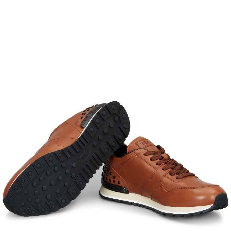 quality design cf971 9cf16 Sneakers aus Leder braun herren XXM0XH0R011DVRS018 | Store ...