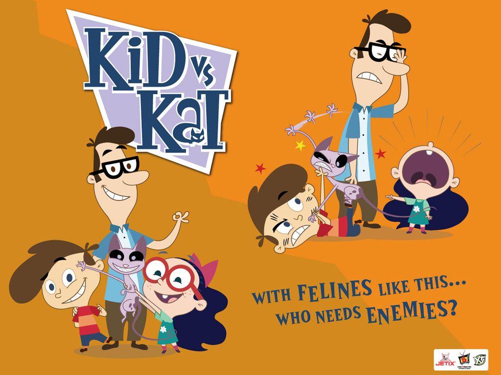 Kid Vs Kat Wall Paper Kid Vs Cat 90s Cartoon Characters