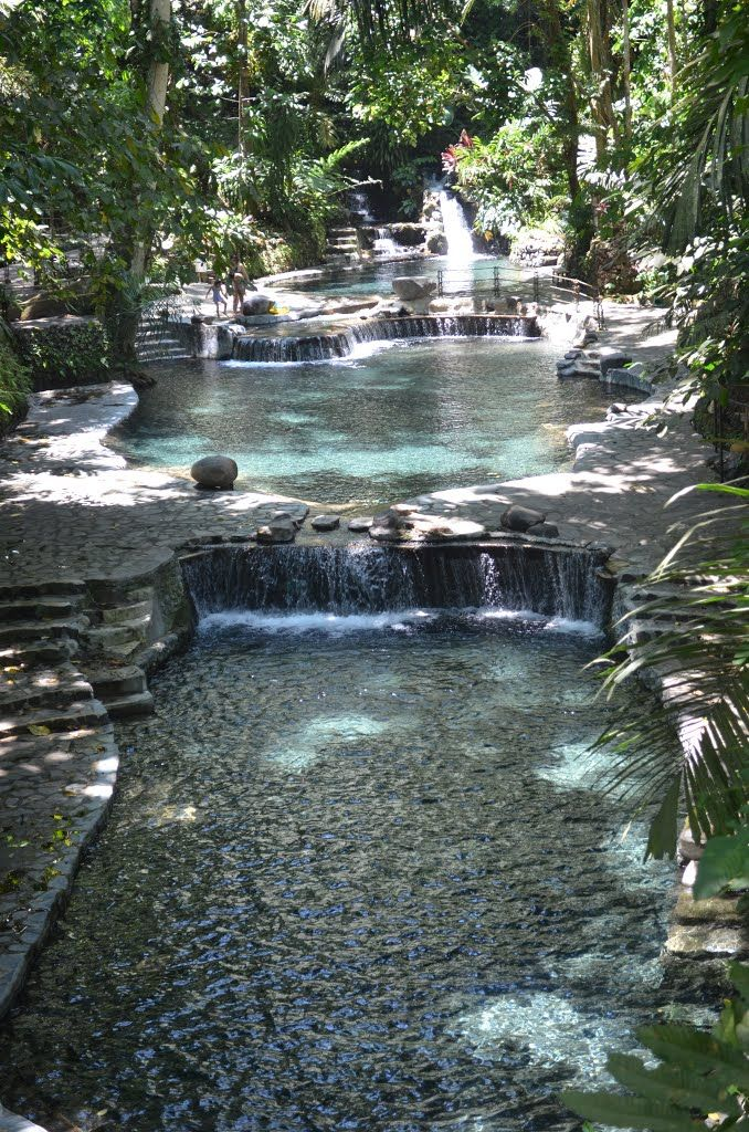 Hidden Valley Springs Resort A Tropical Paradise In Calauan Laguna Natural Swimming Ponds Pool Landscape