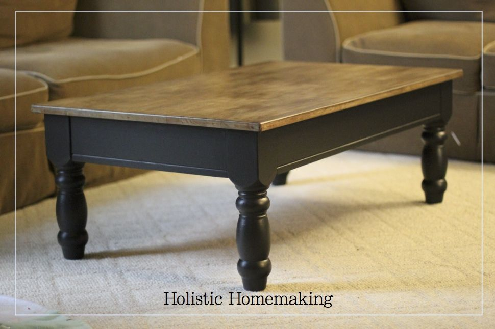 holisitc homemaking coffee table redo | For the home ...