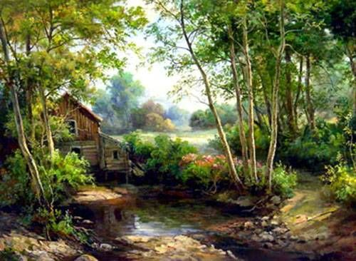 Modern Landscape Painting Oil Paintings Sinoorigin Modern Landscape Painting Landscape Paintings Canvas Painting Landscape