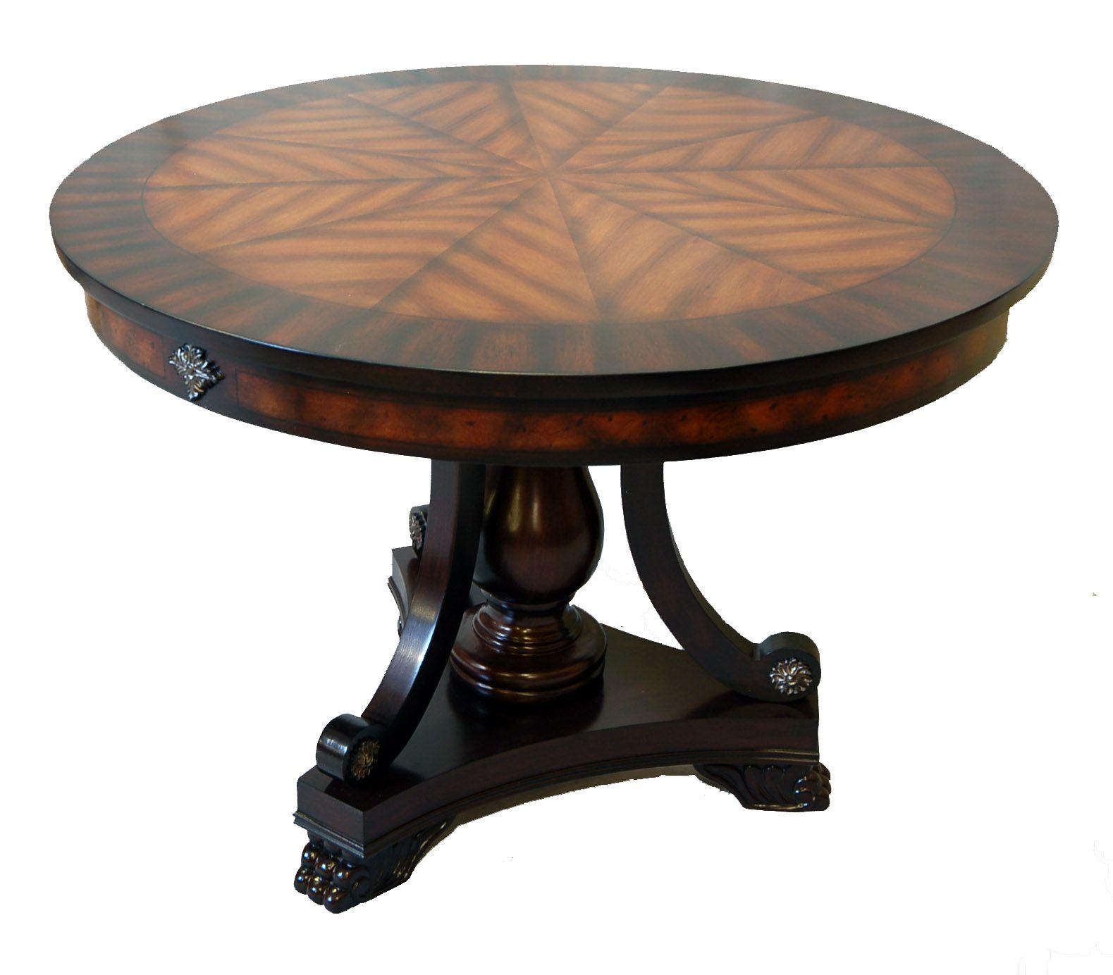 Foyer Round Table Bobreuterstl Com ronde eettafels Pinterest