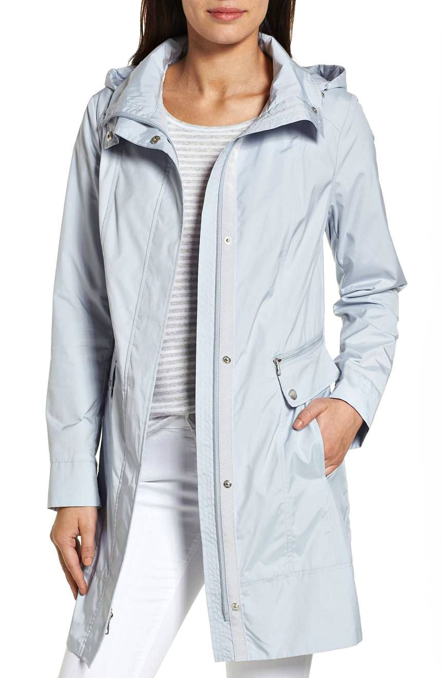 Fashion style Raincoat womens with hood stylish for girls