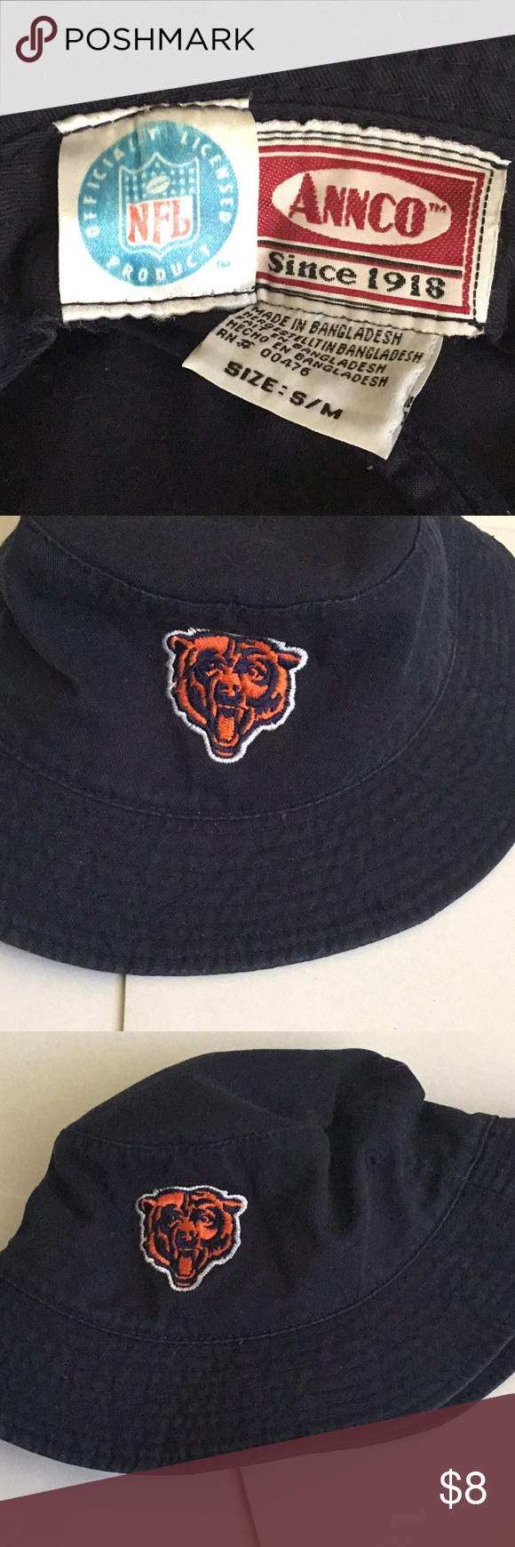 Bears Fan Buckethat Excellent For This Up And Coming Season Show Your Pride With This Chicago Bear Buckethat Clothes Design Fashion Trends Fashion