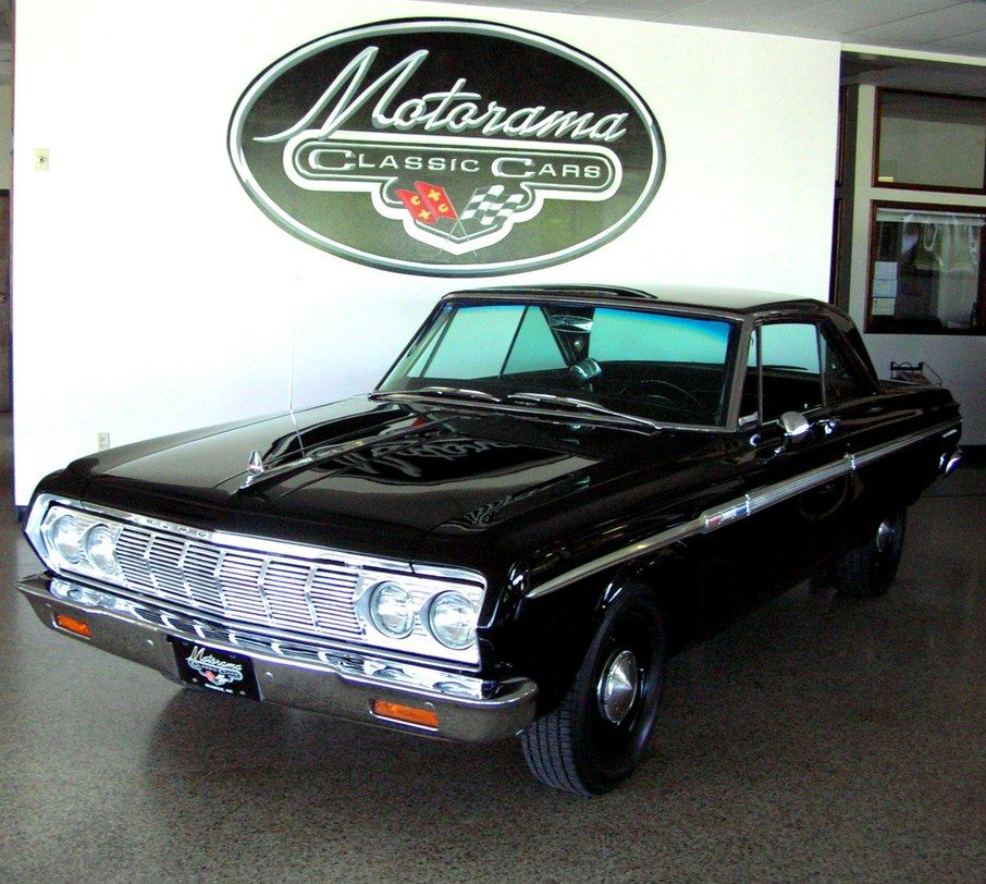 1964 Plymouth Fury; this car is why the police used them back in ...