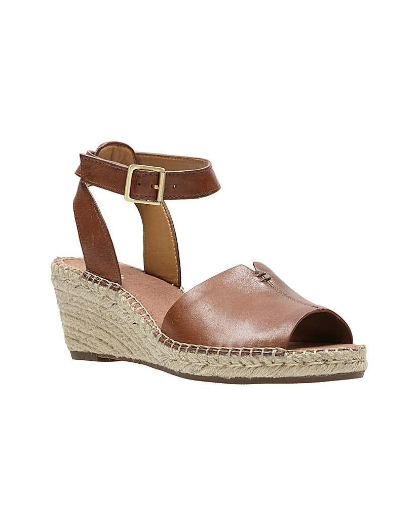 c3681cb6e15ac Clarks Petrina Selma D Fitting   Products   Brown espadrilles, Shoes ...
