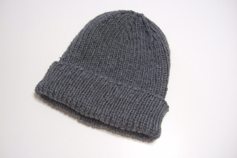 8a415de58 Favorite Ribbed Hat for Straight Needles | Knitting | Knitted hats ...