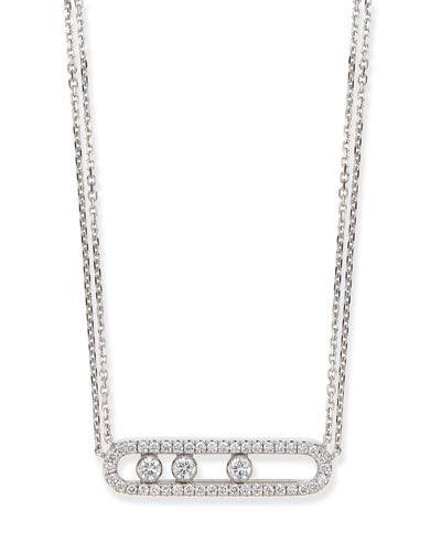 Messika 18k Sliding Diamond Bracelet l9CiWiUak