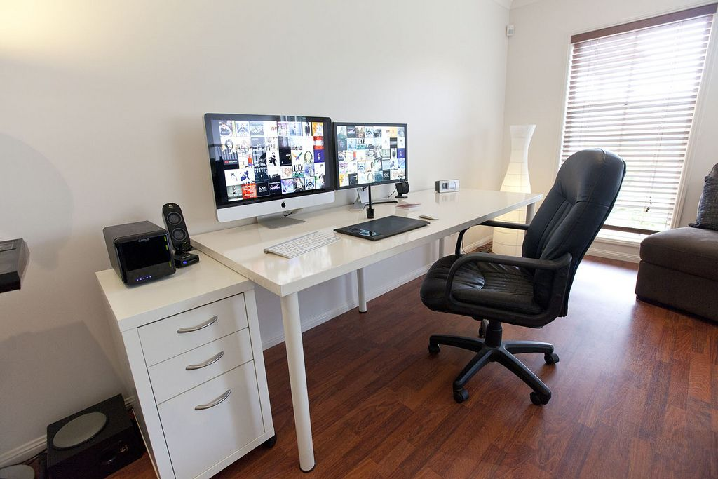 Stunning home office workstation setups