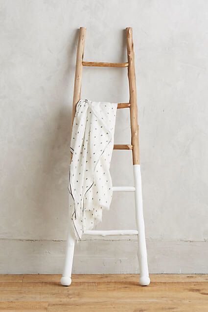 Anthropologie White-Dipped Ladder | #ad - Interieur - Woonkamer ...