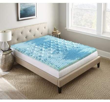 Home Memory Foam Mattress Topper Gel Mattress Topper Mattress