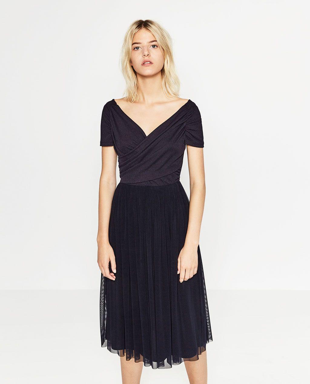 BALLERINA DRESS-DRESSES-WOMAN-COLLECTION AW16 | ZARA United States $49.99 - BALLERINA DRESS-DRESSES-WOMAN-COLLECTION AW16 ZARA United States