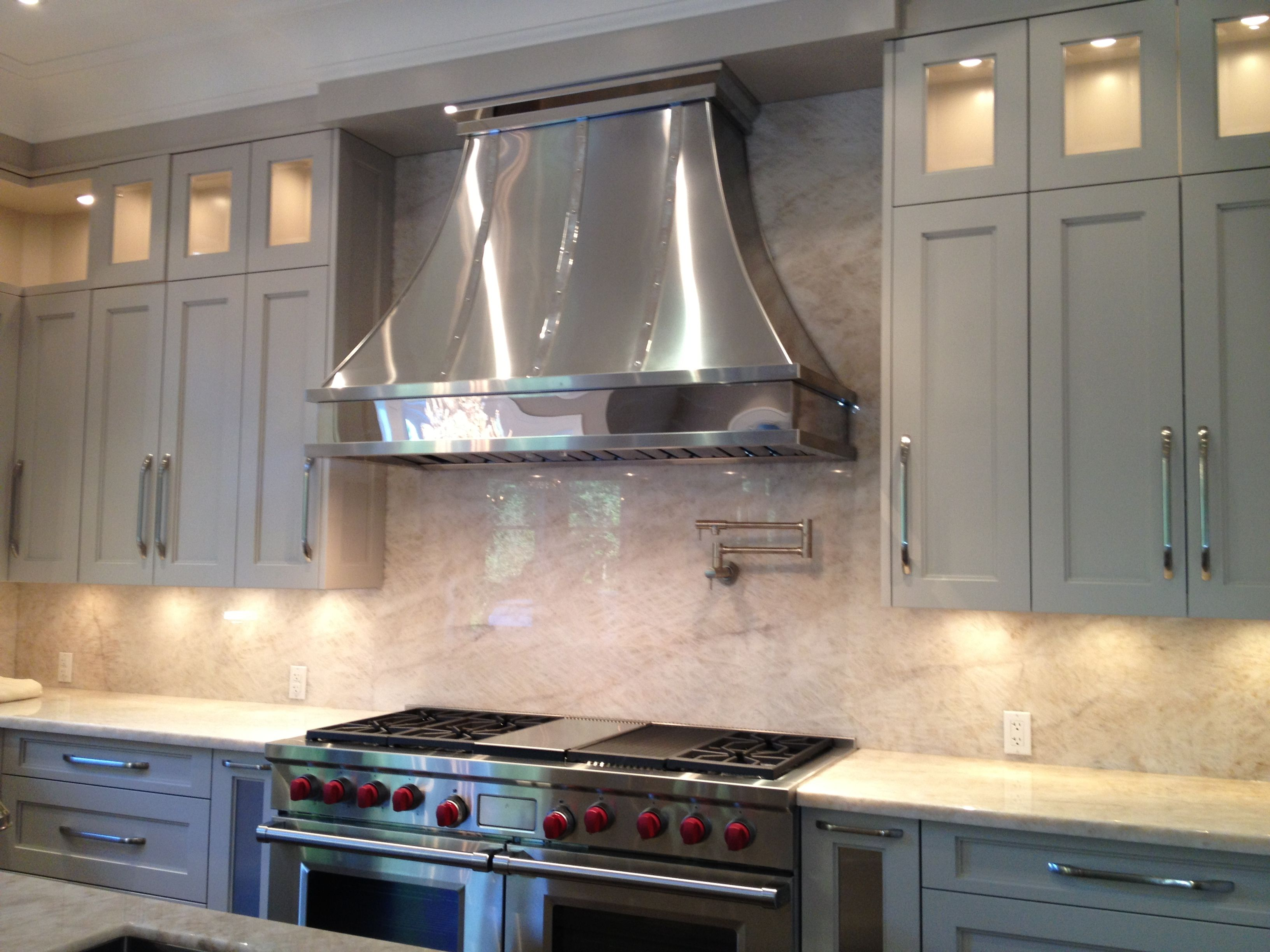 Polished Stainless Steel Range Hood 15 002 Www Customrangehoods Ca