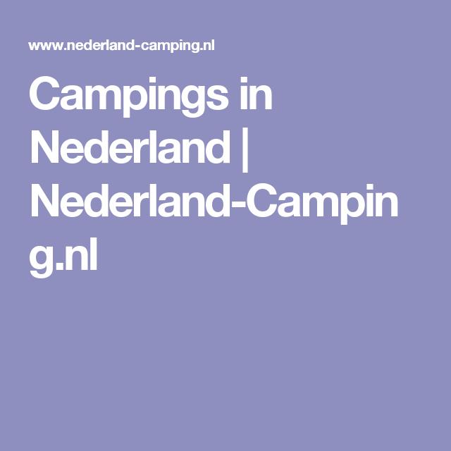 Campings in Nederland   Nederland-Camping.nl