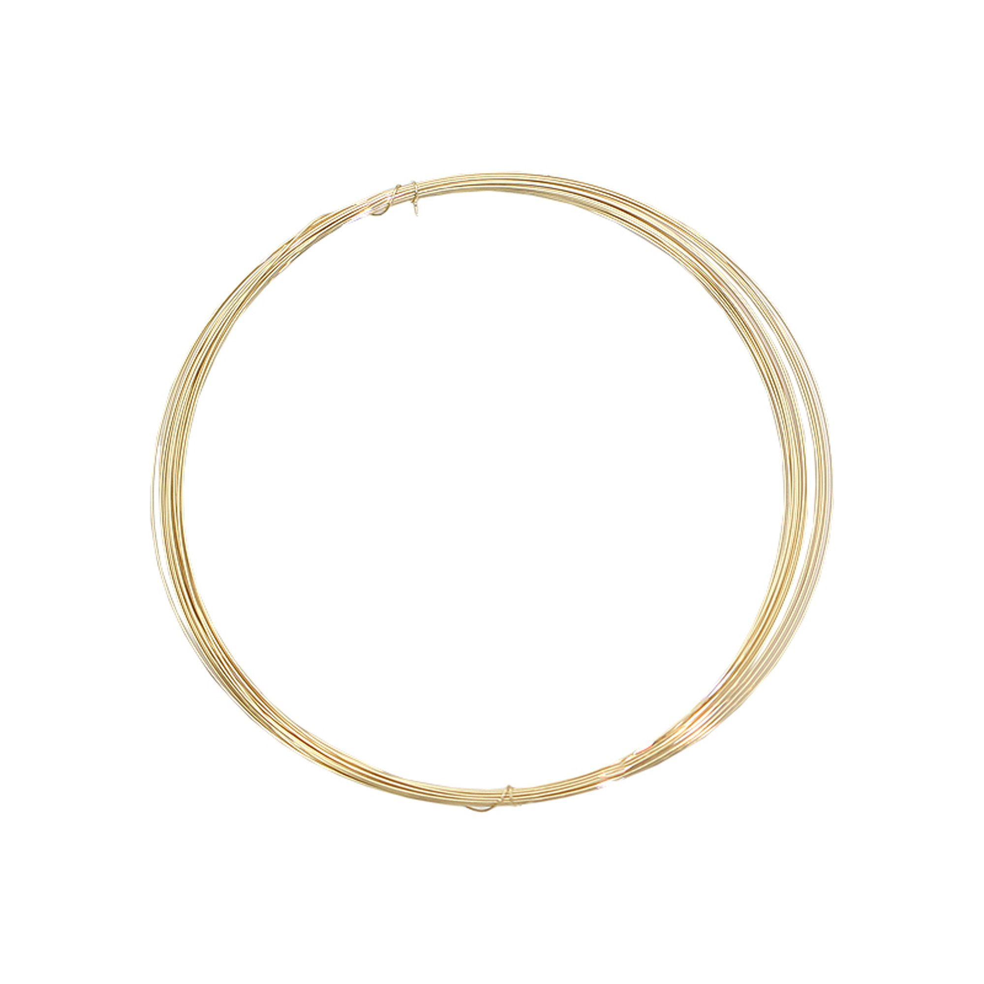 Wholesale Jewelry Gold Filled 14k Gold Filled Wire Round 19 28 Gauge For Necklace Pendant