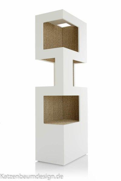 """Design Kratzbaum """"Rotterdam Weiß"""""""