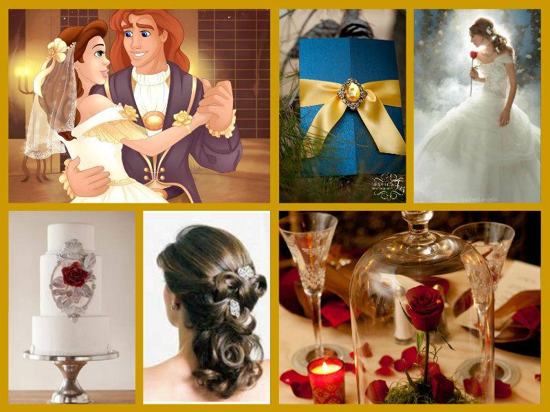 Beauty and the Beast wedding theme | Disney Themes | Pinterest ...