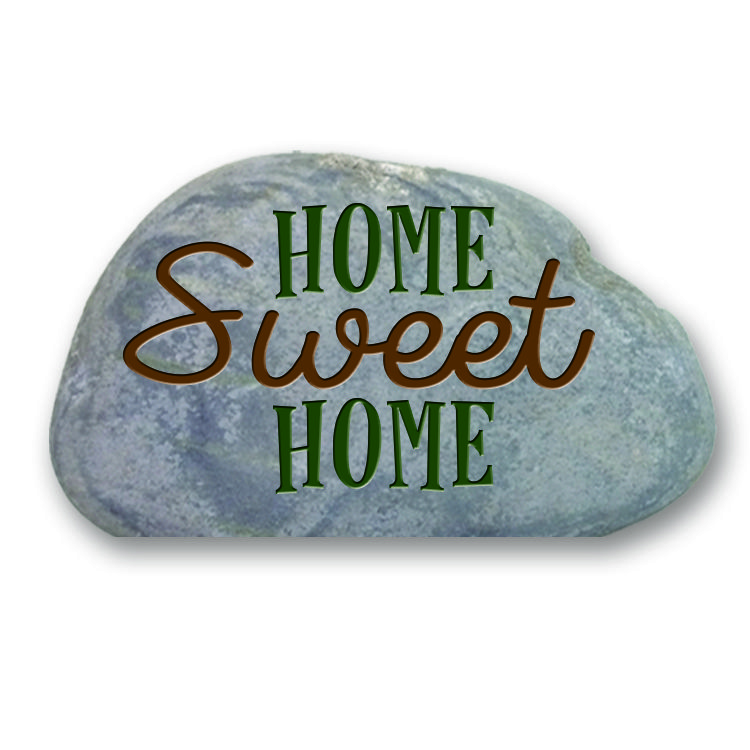 Garden Stone (with Cut Bottom) - Home Sweet Home