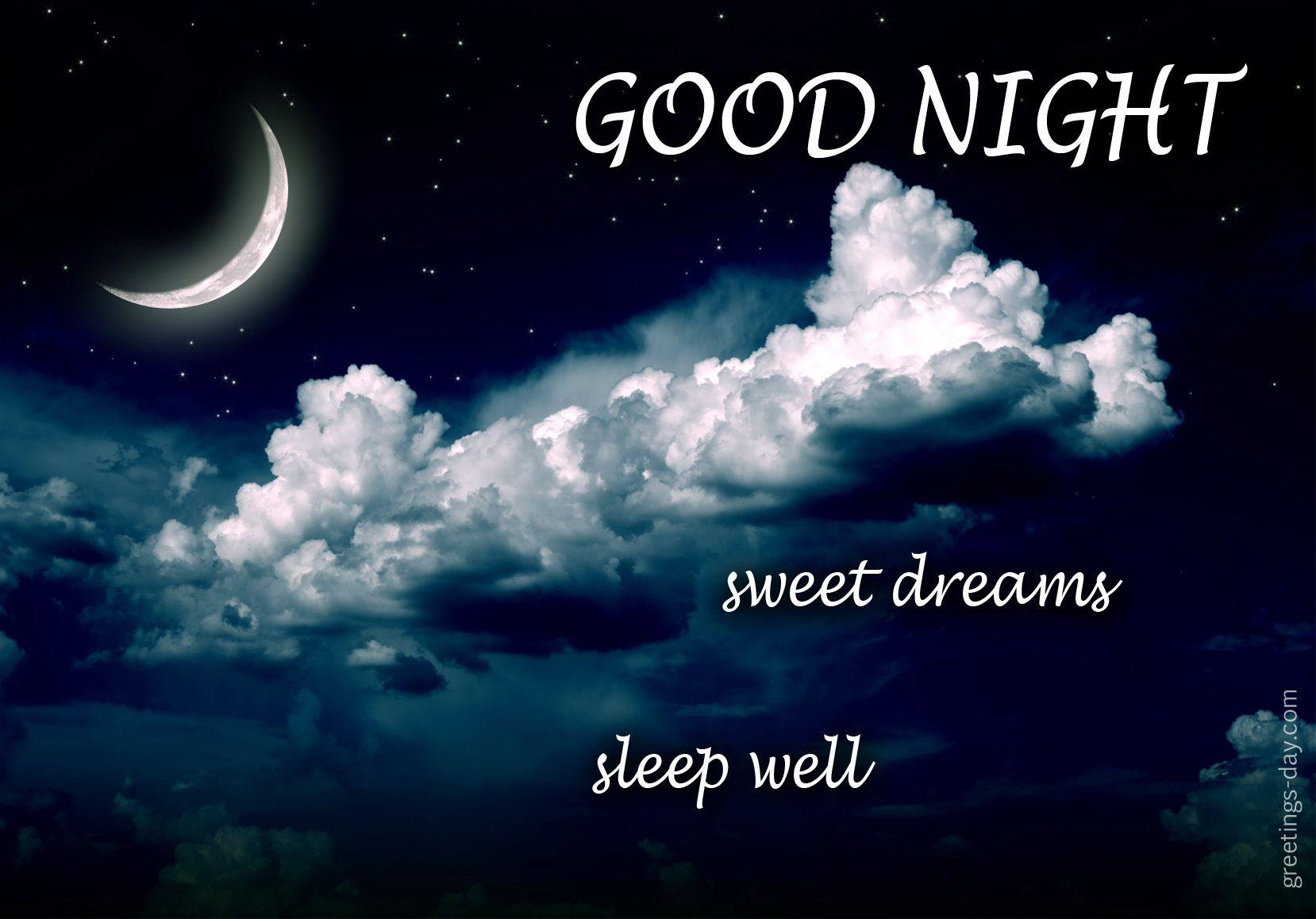 Sweet Dreams Sleep Well Httpgreetings Daysweet Dreams