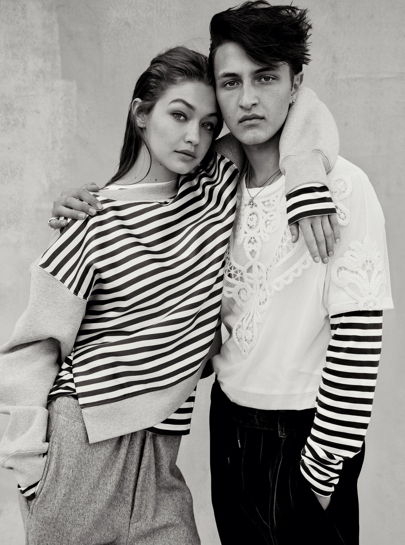 Gigi Hadid Flaunts the Season's Best Gender-Bending Looks With Zayn Malik and Anwar Hadid
