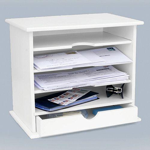 Get Organized Mail Organizer Desktop Organization Home Storage Organization