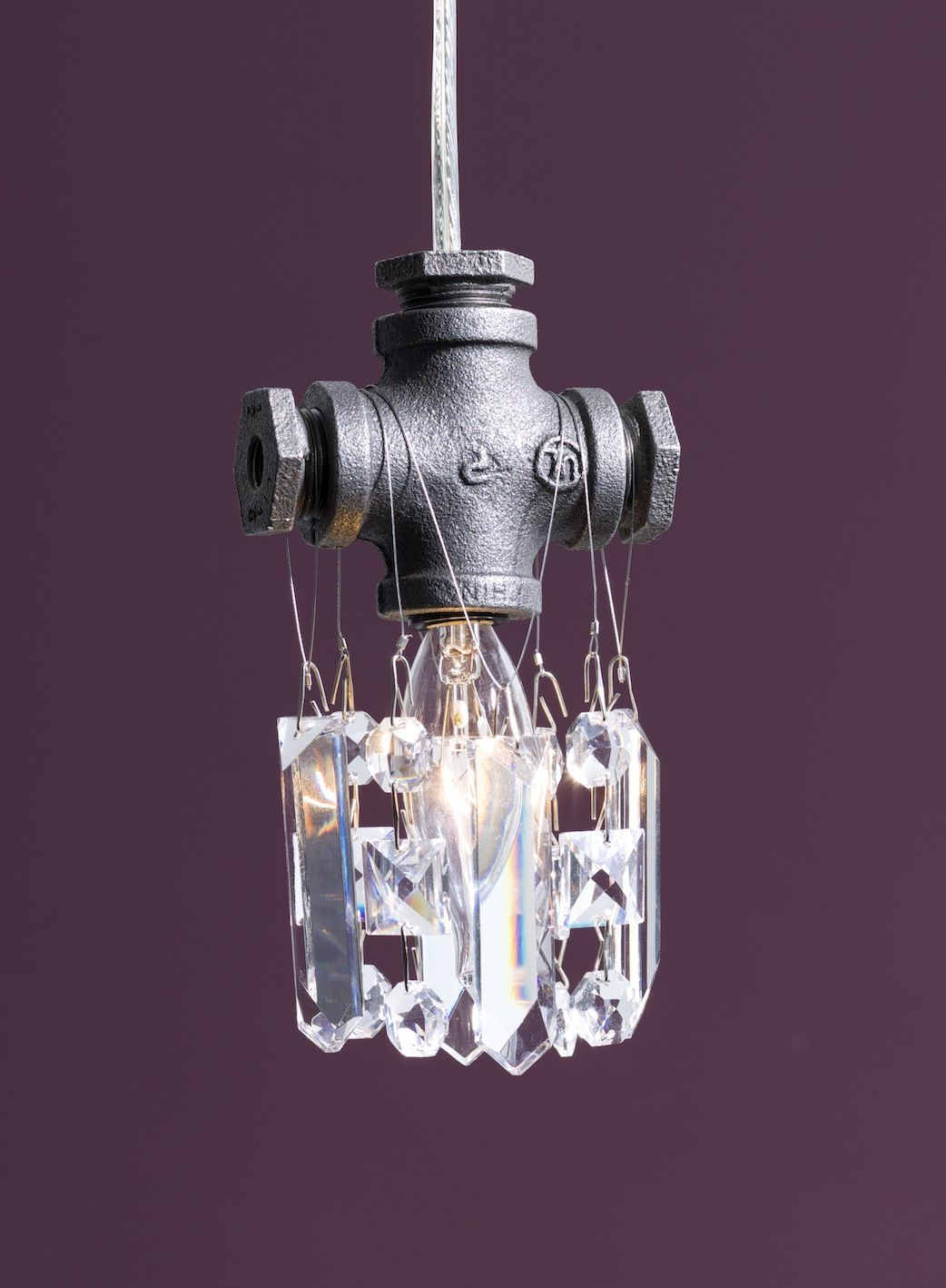 Modern lighting tribeca single bulb pendant from michael mchale