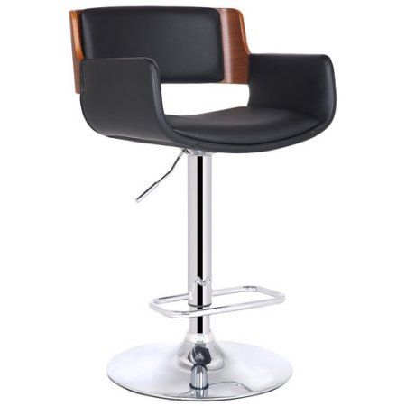Pleasing Adeco Trading Bentwood Adjustable Height Swivel Bar Stool Gmtry Best Dining Table And Chair Ideas Images Gmtryco