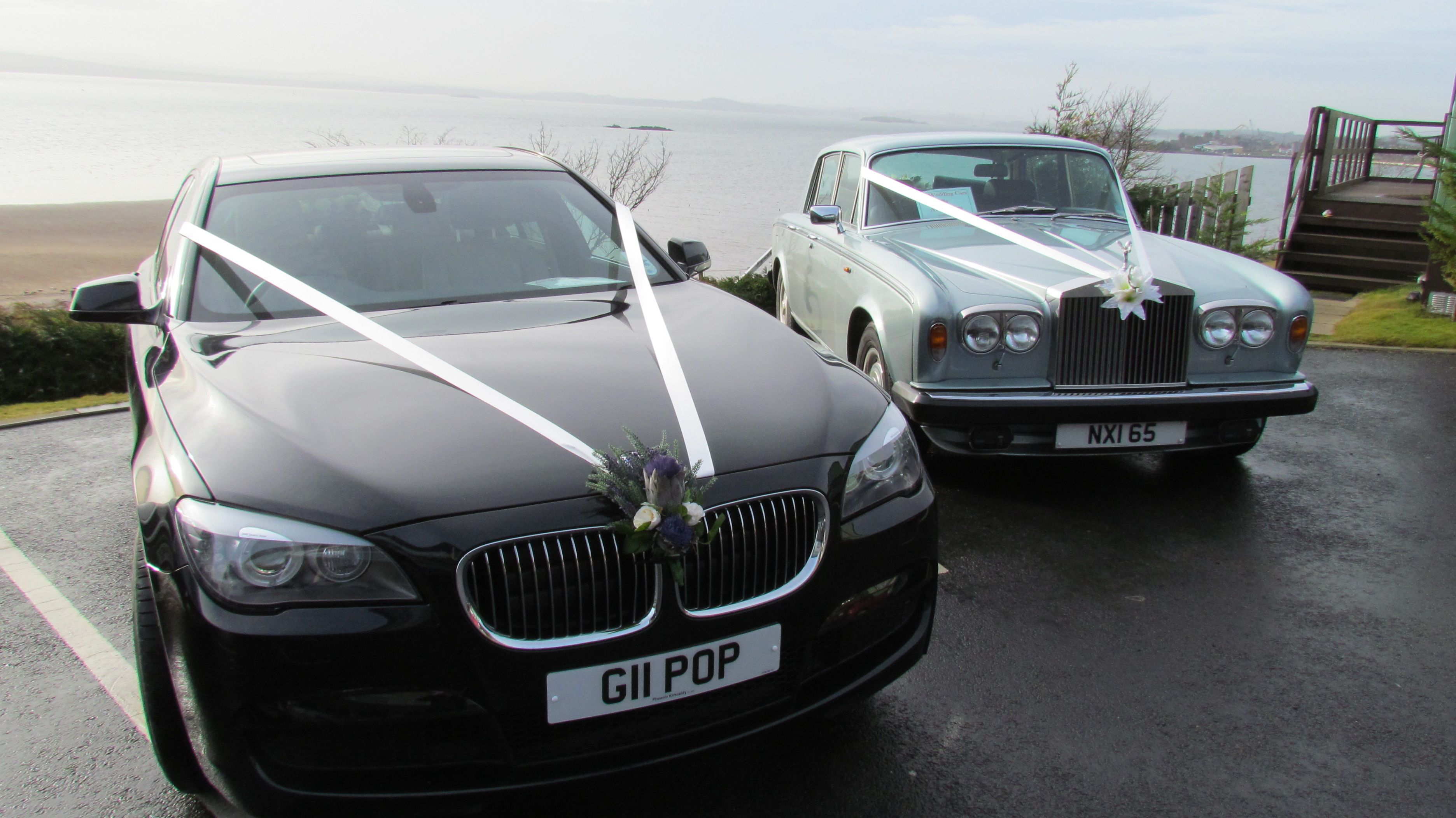 Bmw 7 Series And Rolls Royce Silver Shadow Ii At Pettycur Bay Fife