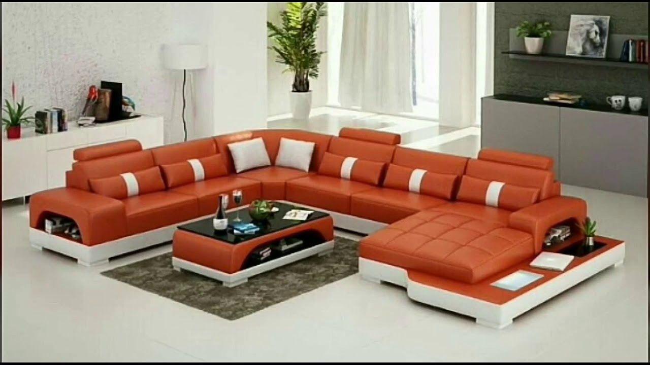 Sofa Set For Living Room Modern Sofa Set 2019 Youtube In 2020 Leather Living Room Furniture Sofa Set Modern Sofa Sectional
