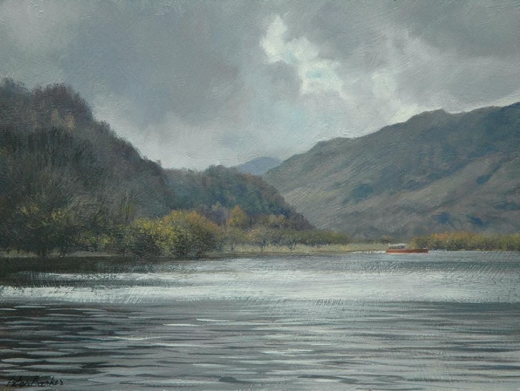 Peter Barker Fine Art - Brooding Sky, Derwentwater