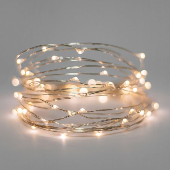 Battery Operated Lights 30 Warm White Battery Operated Led Fairy Lights Silver Wire Christmas Lights Etc White Fairy Lights Led Fairy Lights Fairy Lights