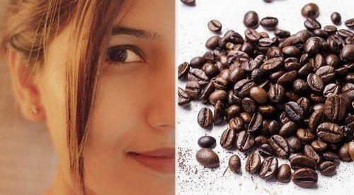 Maschere al caffè per rassodare la pelle del viso — Vivere più sani