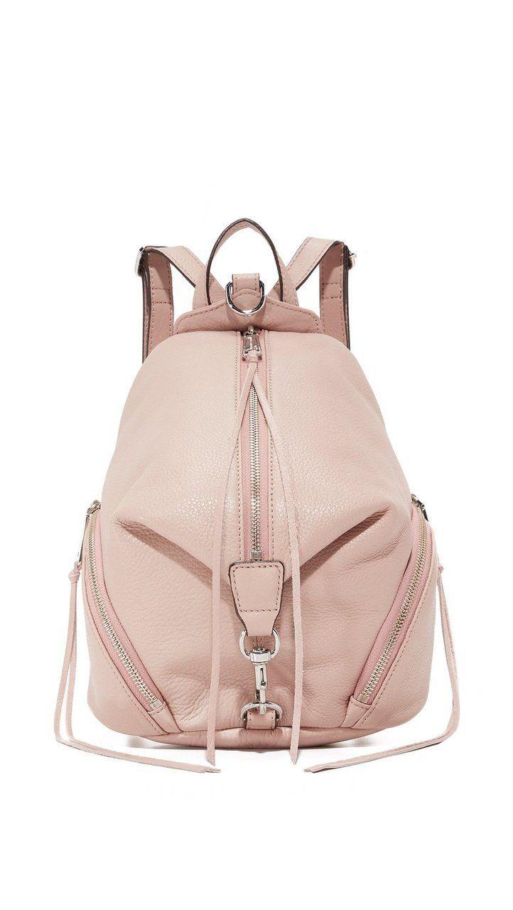 fe50f5e5fa91 Rebecca Minkoff Vintage Pink Medium Julian Backpack - Holly   Brooks ...