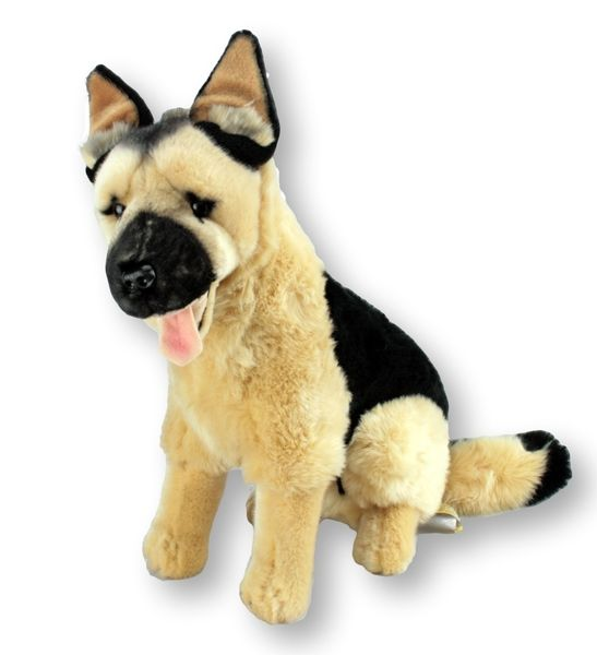 German Shepherd Stuffed Animal Large Major Bocchetta Plush