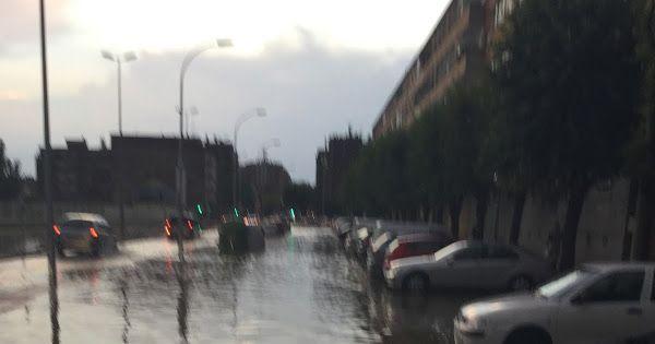 Inundaciones en Huesca en septiembre de 2015