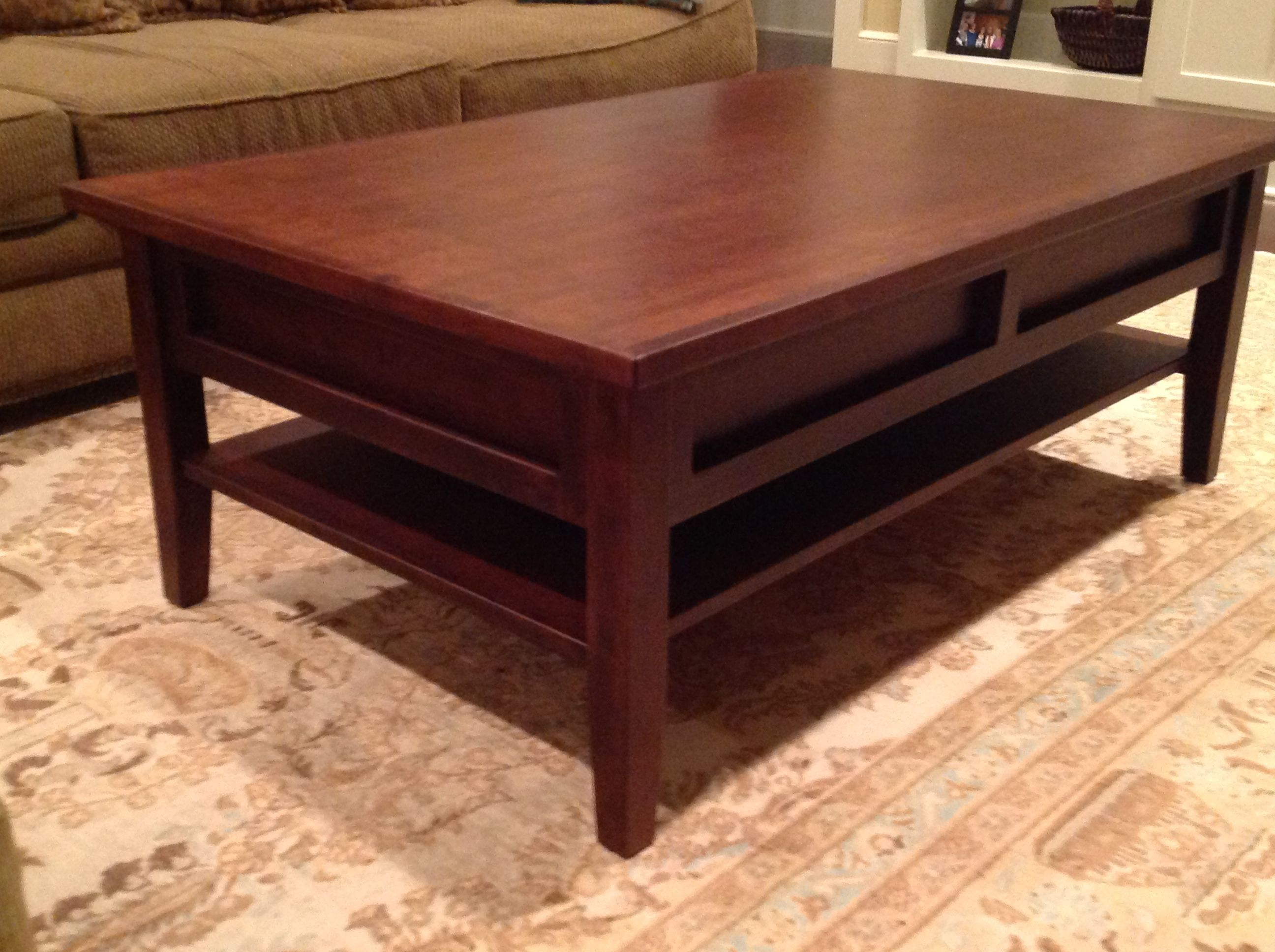 Shaker Style Coffee Table We Built Coffee Table Table Furniture