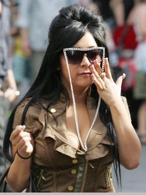 29d434e0c4a Sunglasses Like the ones Worn by Snooki From the Show Jersey Shore