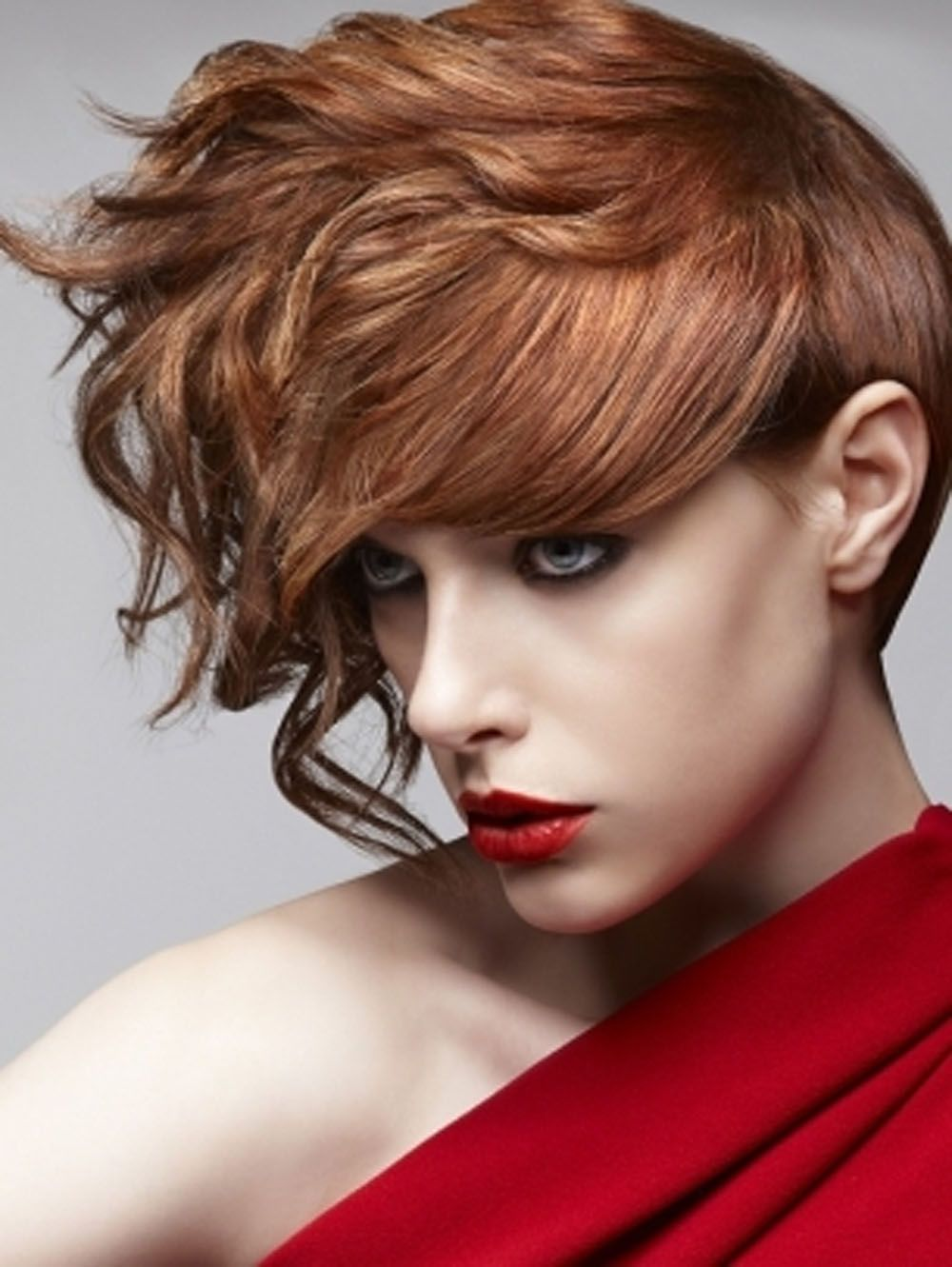 Trend hairstyle for women with red hair color look me